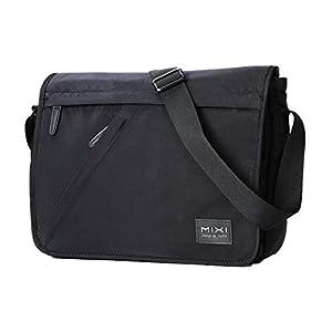 Umhängetasche, Messenger Bag Laptop Tasche 12 Zoll Schultertaschen Business Aktentasche Wasserabweisend Umhängetasche…