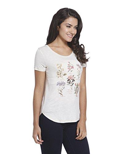 ONLY Damen T-Shirt Onldream S Flower Print Top Box Ess Beige (Peyote Print:FLOWER)