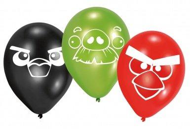 6 Luftballons Angry Birds (Angry Luftballons Birds)