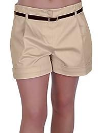 Amazon.co.uk: Beige - Shorts / Women: Clothing