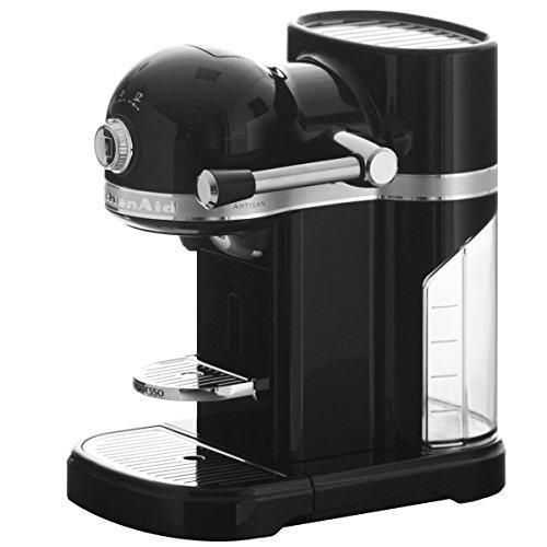 KitchenAid 5KES0503EOB/4 Nespresso Kaffeeautomat Serie Artisan, onyx schwarz