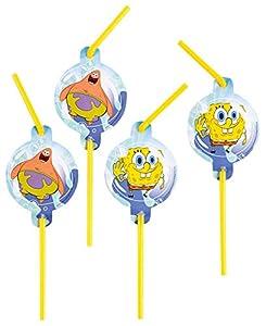 Pajas Spongebob Motif en 8 Paquete, con Patrick y Bob Esponja