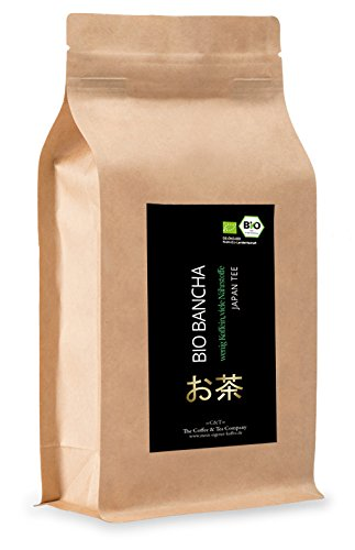 Bio Bancha grüner Tee aus Japan (200g) (Kaffee-tassen Grüner Berg)