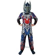 Rubie's 888 913-M - Costume per travestimento da Optimus Prime (Transformers 4 - L'era dell'estinzione), Bambini, M (5-6 anni)
