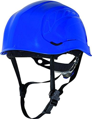 Sicherheitshelm-für Baugerüste / Turmarbeiter, Bergarbeiter-Stil mit Kinnriemen, Blau -
