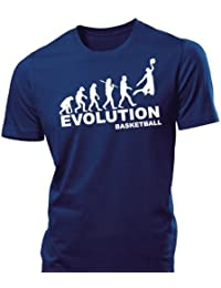 iClobber Basketball Evolution Men's T Shirt tshirt Hoops harlem globe trotters