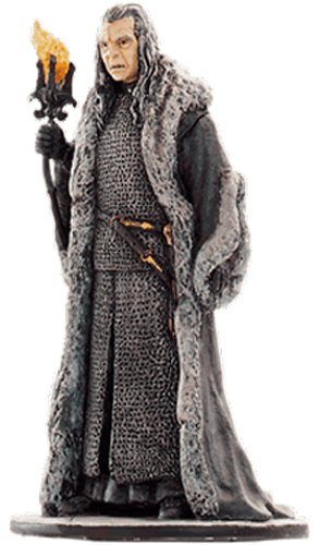 Lord of the Rings Señor de los Anillos Figurine Collection Nº 25 Denethor 1