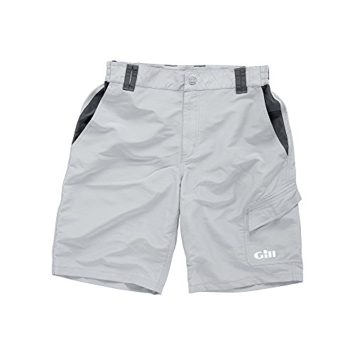 Gill Performance Sailing Shorts Silver Grey 1644 padded optional Sizes- - Large