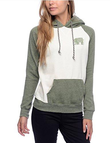 ZEARO Damen Casual Hoodie Sport Pullover Langarm Jacke Top Sweatshirt Pullover Tops Jumper Grün