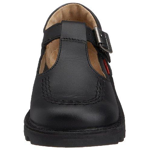Kickers 1-kf0000765btw, Chaussures Garçon Noir (Black)