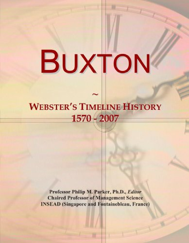 buxton-websters-timeline-history-1570-2007