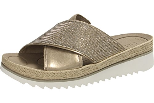 ANALISE GABOR SLIDER SANDAL 63.722 Gold