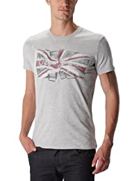 Pepe Jeans Flag - T-shirt - Uni - Manches courtes - Homme
