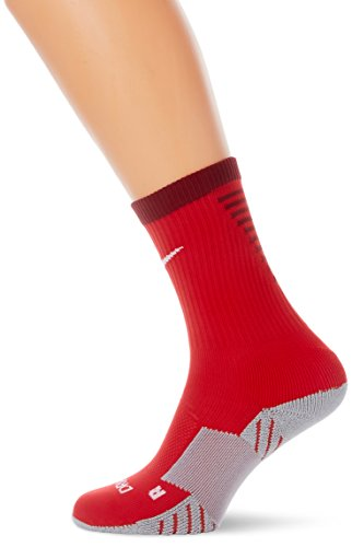 Nike Herren Matchfit Cushion Crew-Team Socken -Mehrfarbig (university red / team red / white) , Small -