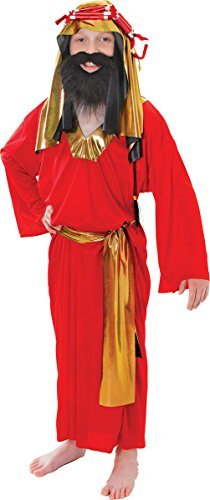 Wise Man - Red - Kinder (Wise Man 3 Kostüme)