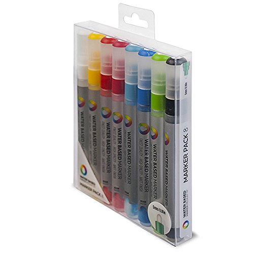 Montana Colors MTN Water Based Markers 5mm Set 8 Colores
