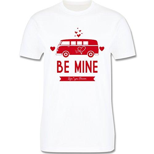 Statement Shirts - Love Me Mine Bus T1 - Herren Premium T-Shirt Weiß