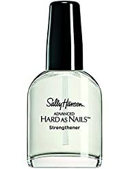 Sally Hansen Hard as Nails with Nylon Nail Treatment Formula, Packaging May Vary, Nude, 13 ml