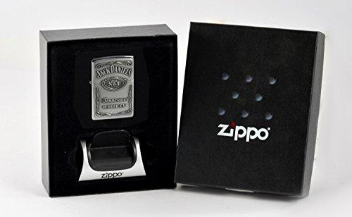 Zippo Jack Daniels im Geschenkset mit Magnetständer