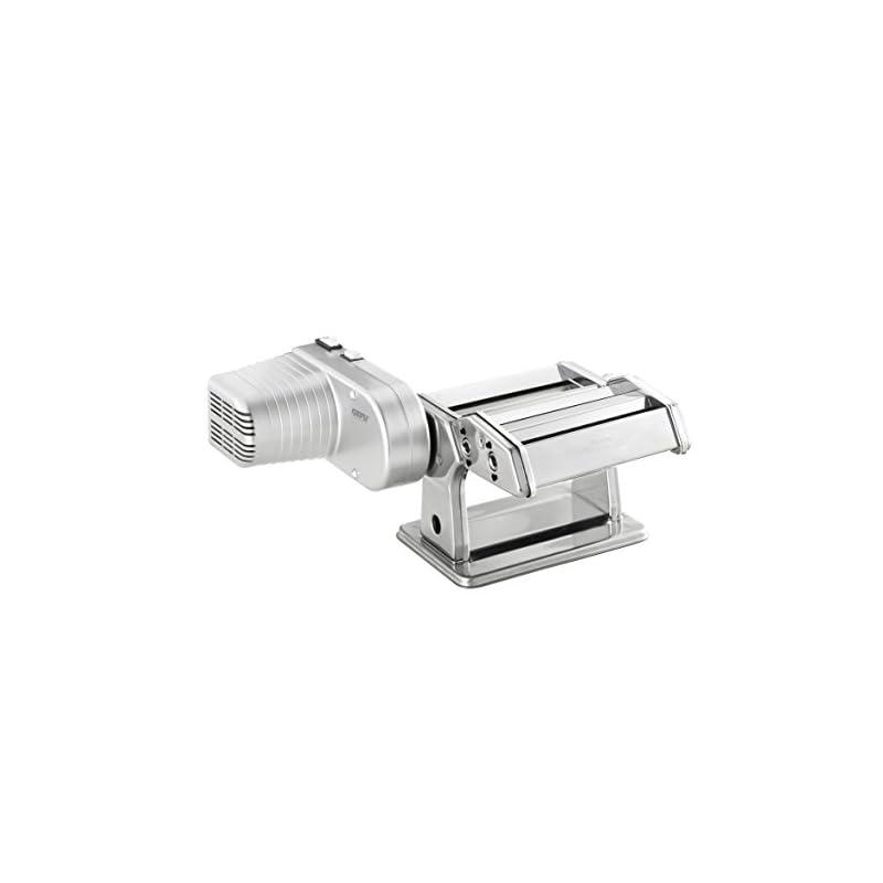 Gefu 00122 Pastamaker Perfetta Mit Antrieb Nudelmaschine Zum Einfachen Herstellen Von Tagliolini Tagliatelle Und Lasagne