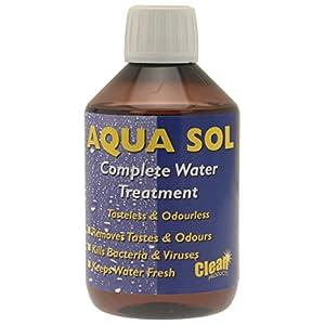 41uF3jZNfNL. SS300  - Clean Tabs 020837 Aqua Sol Water Treatment-Blue, 300 ml