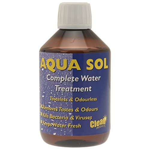 41uF3jZNfNL. SS500  - Clean Tabs 020837 Aqua Sol Water Treatment-Blue, 300 ml