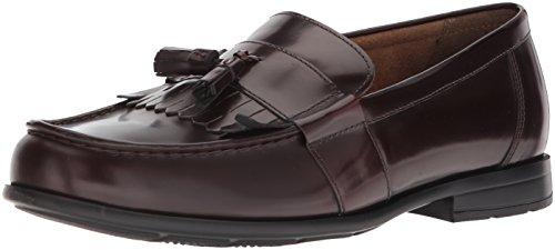 Nunn Bush Men's Denzel Moc Toe Kiltie Tassel Slip-On Loafer Kiltie Tassel
