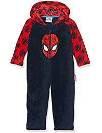 DC Comics Boy's Spiderman Head Overalls