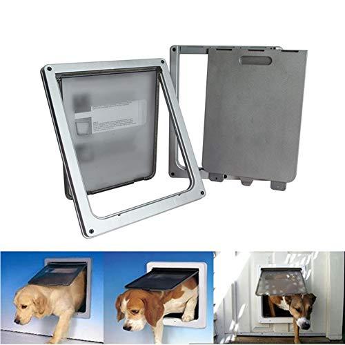 XDYFF Hund Tür Automatische Pet Bildschirm Freier Zugriff auf mehrere Schlüssel, energieeffiziente, programmierbare Haustür