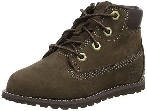 Timberland Pokey Pine 6in, Unisex-Kinder Kurzschaft Stiefel, Braun (Brown), 27 EU (Baby Timberland Boots)