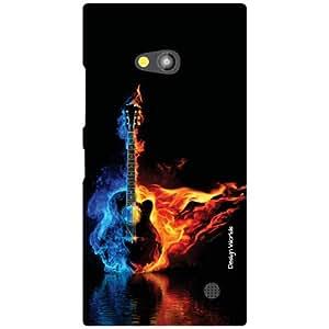 Design Worlds Back Cover For Nokia Lumia 730 - Multicolor