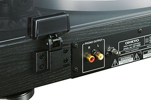 Onkyo CP-1050-D - Giradiscos, color negro