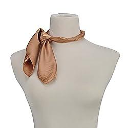 Elegant Pinkycolor Neckerchiefs Hair Scarf Headdress For Office Ladies Housework Aerobic Exercise
