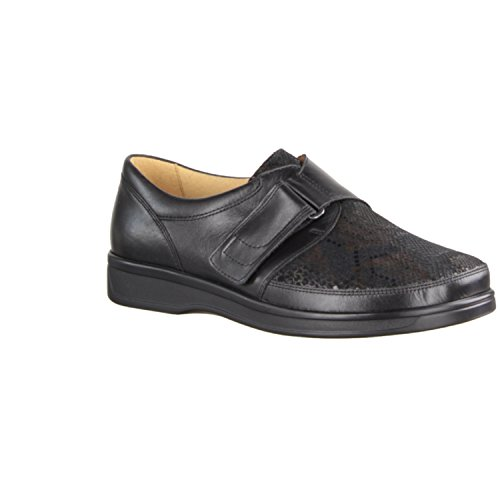 Ganter Damen Sensitiv Karin-K Slipper Schwarz (Schwarz/Multi)