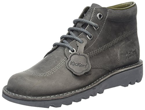Kickers Men's Kick Hi Lthr Am Dk Boots, Grey (Dark Grey), 10...