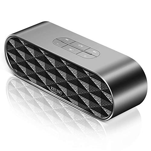 ZZRH Wireless Bluetooth Freisprecheinrichtung Mini Stereo Tragbare Karte U Disk Lade Auto Subwoofer, Unterstützung TF-Karte FM Stereo Hi-Fi-Boxen