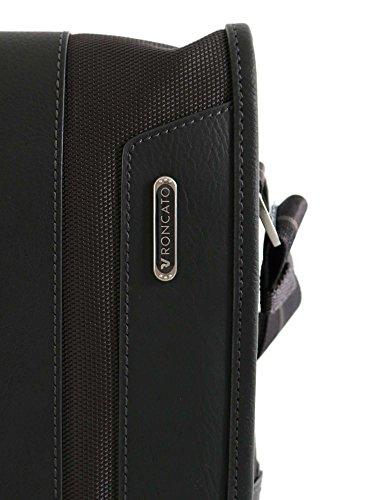 Roncato Panama - Borsa Messenger a tracolla, altezza 17cm, colore: marrone Grigio