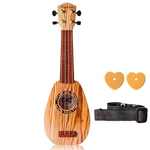 Ukulele Anfänger Ukulele Gitarre Spielzeug Musik Gitarre Lernspielzeug E-gitarre Anfänger Klassische Ukulele Gitarre Pädagogisches Musikinstrument Geschenk für Kinder Lernen für Anfänger Kind Erwachse