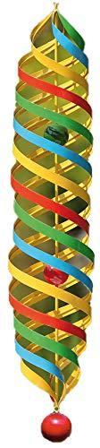 Gilde Handwerk Carillon – Broche Long – Rainbow – Métal – Ø 14 cm/Hauteur : 75 cm – Suspension Incluse (Chaîne : 40 cm)