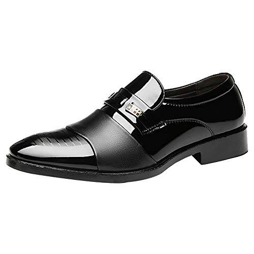 Beikoard Herren Schuhe Business Schuhe Casual Männer Schuhe Leder Schuhe Mode Hochzeit Schuhe Spitze Faule Schuhe