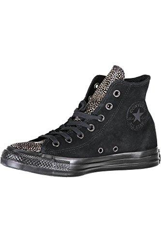 Converse Unisex-erwachsene Chuck Taylor All Star Hohe Sneaker Nero Nero / Nero / Nero