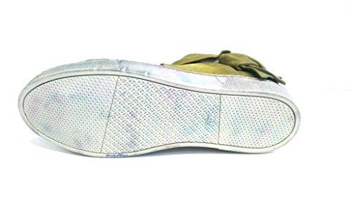 8284L Stivali Zeppe Donna Tortora 80%20 Winnie Slouchy Scarpe Boots Shoes Women Tortora