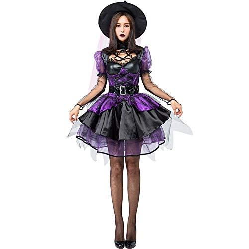 Erwachsene Sexy Halloween Kostüme Für Frauen Kostüme Kleid Vampir Hexe Kostüm Magic Girl Cosplay ()