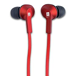 iBall MusiGripper B9 Bluetooth Headphones (Red)
