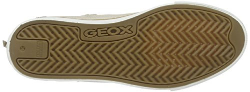 Geox Mädchen Jr Ciak Girl B High-Top Beige (Beigec5000)