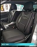 MAß Housses de siège pour VW Polo 6 AW conducteur et passager 128