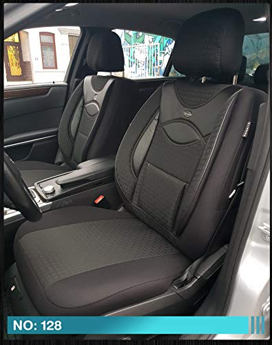 Fundas de asiento para Ford Tourneo/Transit Connect II conductor y copiloto a partir de 2013 - 2018, número de color: 128