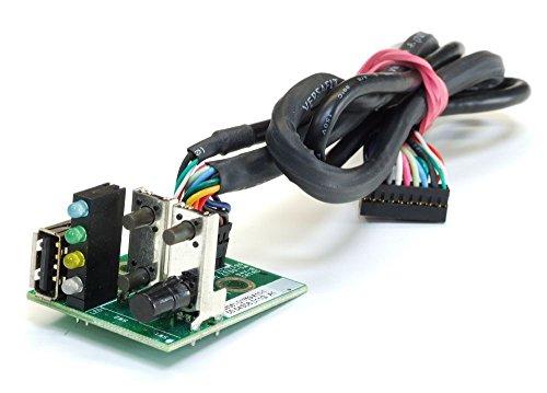Fujitsu-Siemens FSC A3C40052663 USB LED Power Button Board Primergy RX100 S3/S4 S26361-D1753-A11 (Generalüberholt) -