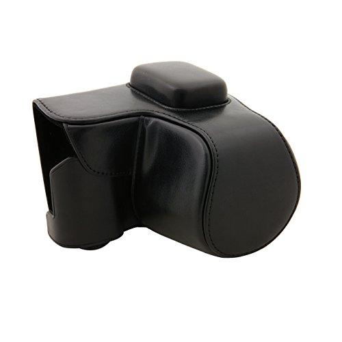 TARION Custodia di fotocamera borsa fotografica di disegno PU per Samsung NX 3000 telecamere mini con 22 mm-55 mm obiettivo zoom