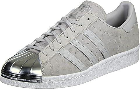 adidas Superstar 80s Metal Toe W Schuhe 8,0 grey/silver